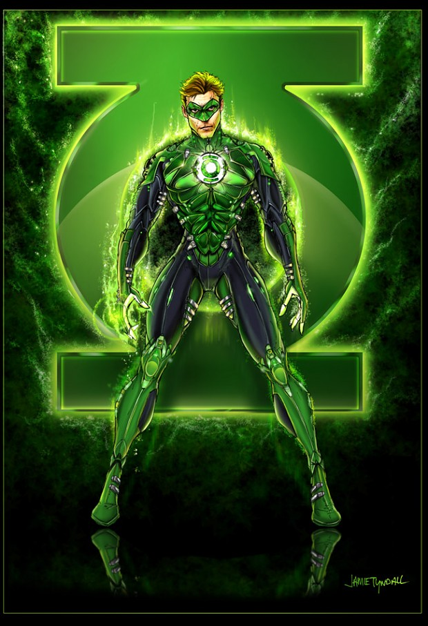Green Lantern Skin Pack