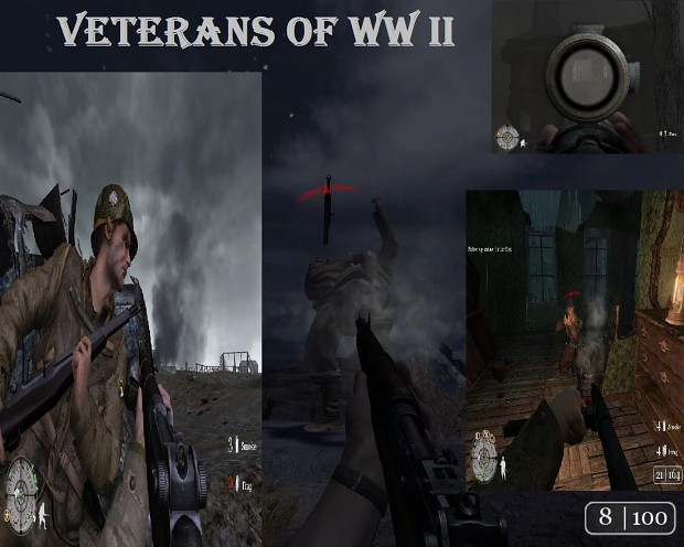 Veterans of WW II