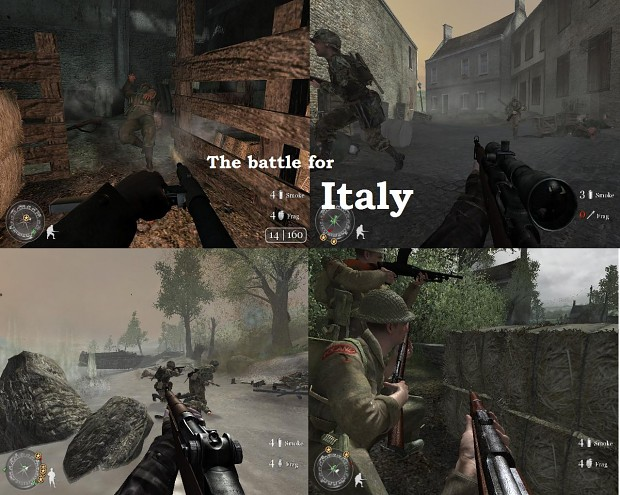 The Battle for Italy
