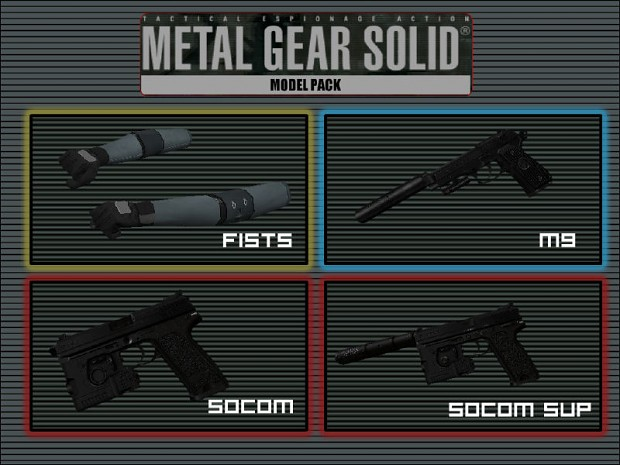 MGS Weapon Pack