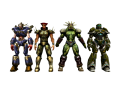 PS2 Chars ScalePack