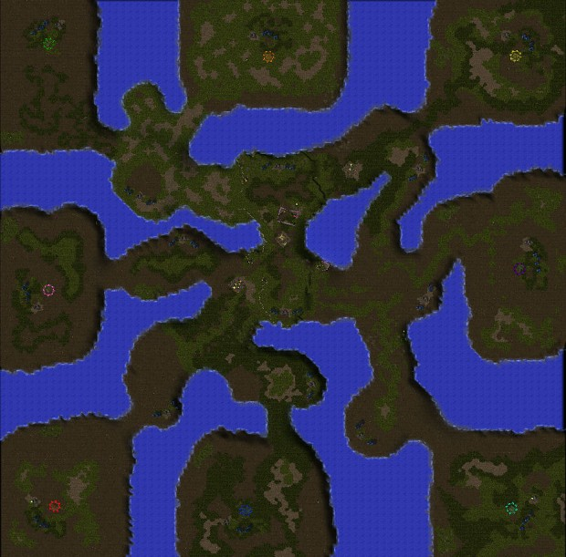 Starcraft Hybirds 1.4, map: The Hunters