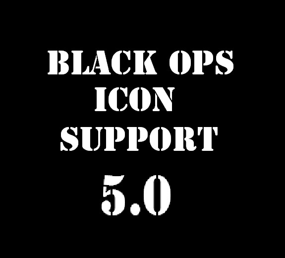 Black Ops Icon Support (needed to see icons)