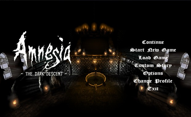 Amnesia Custom Main Background Pack