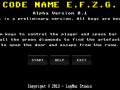 Code Name E.F.Z.G. - Win