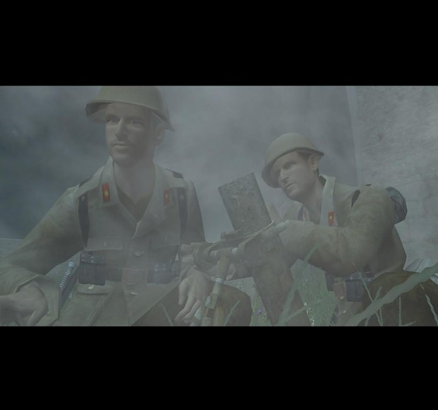Japanese Front + Ivanhoe's Americans in Africa mod