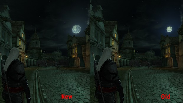 The Witcher - Realistic moon HD v.1