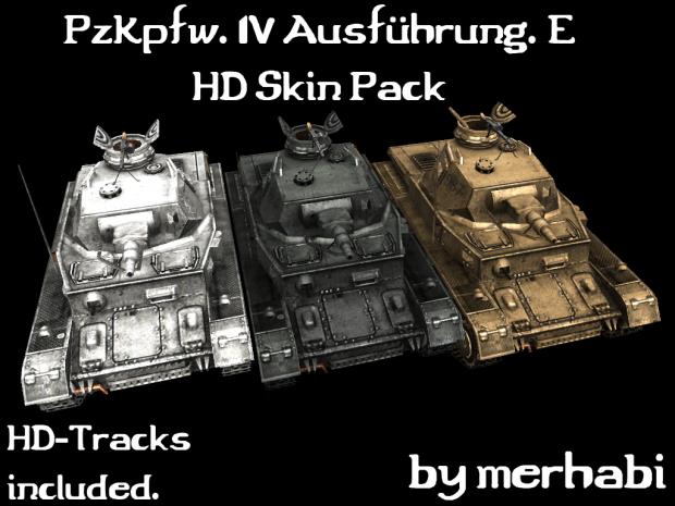 PzKpfw IV Ausf. E HD Skin Pack
