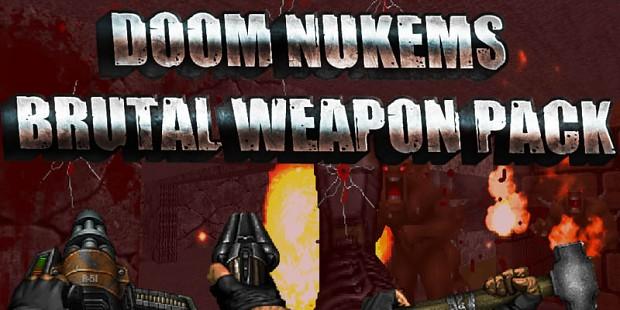 DoomNukem BrutalDoom Pack test 3