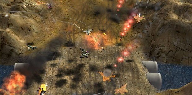 Earth Conflict mod for Command and conquer Generals - Zero hour Just copy t