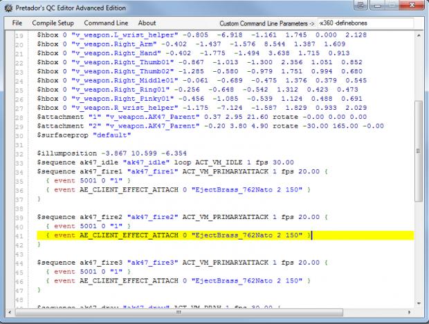 Pretador's QC Editor/Compiler Advanced Edition