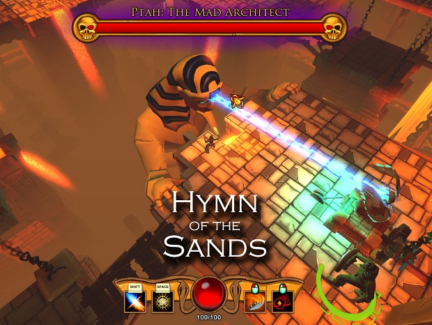 Hymn of the Sands Beta