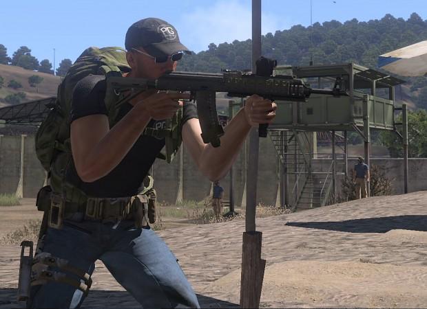 Tactical Magpul Tactical Ak-74 With Magpul