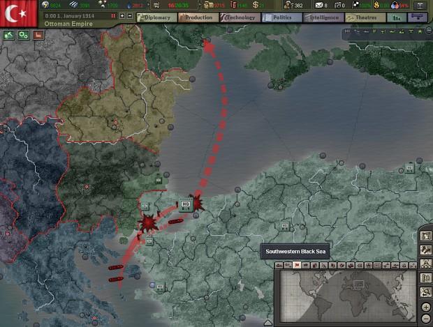 [MOD]Hearts of Iron 3 World War 1 Mod Ana Konu