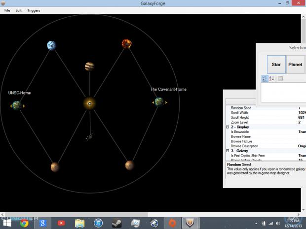 Galaxy forge maps