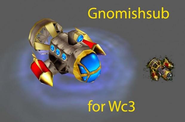 Gnomish submarine Submarino gnomo Gnomishsub