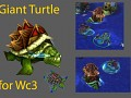Giant turtle War turtle