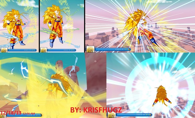 Goku Super Saiyan 6 Rage Beta