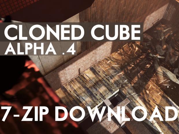 Cloned Cube Alpha .4 7-Zip Download