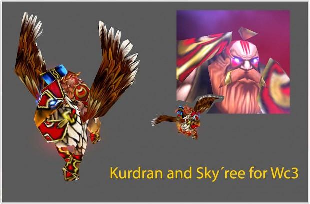 Kurdran y Sky ree Kurdran