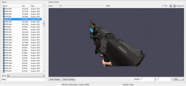 Doom 3 Weapons Assets V2