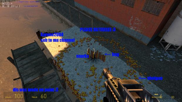 HL1 Guns to HL2 V0.1 + Snark NPC