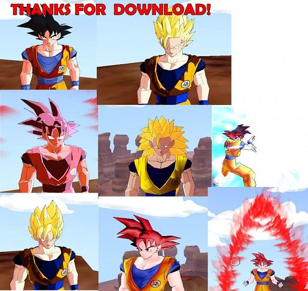 New Goku made by me! #Upload 1