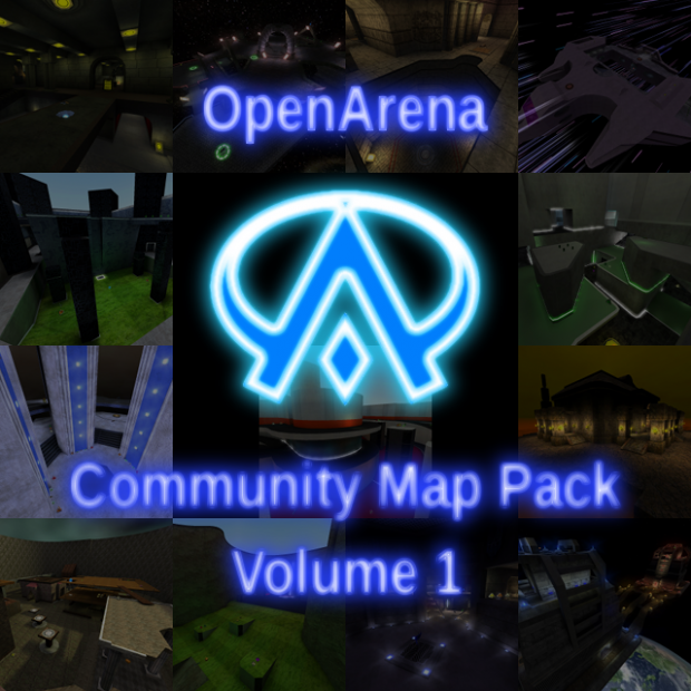 OpenArena Community Mappack Volume 1 v3 Re-Release