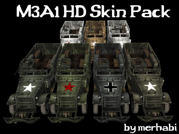 M3A1 HD Skin Pack
