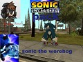 sonic the werehog ps3 model