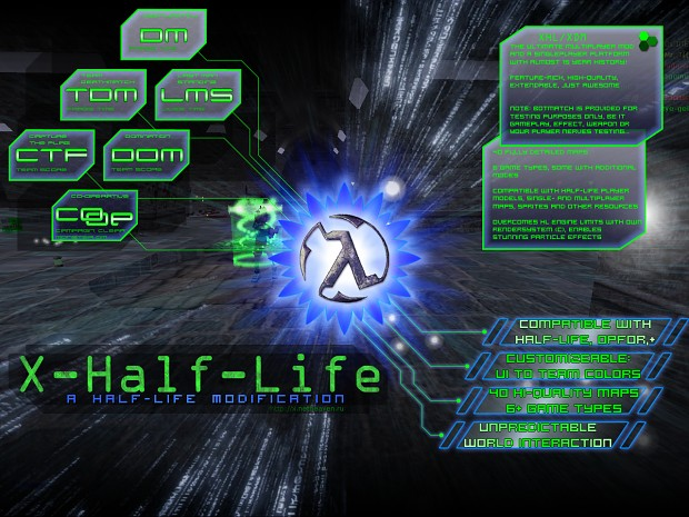 X-Half-Life Deathmatch 3.0.3.7