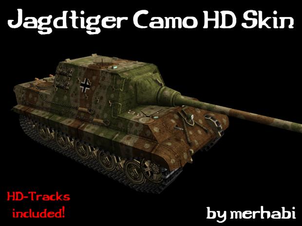 Jagdtiger Camo HD Skin