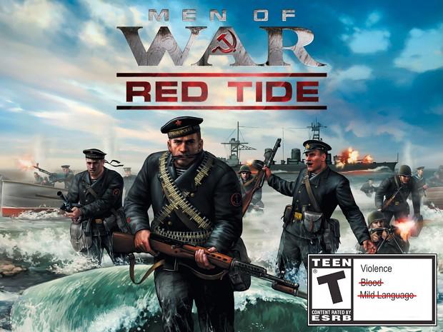 Men of War Red Tide No Swear No Blood