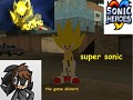 super sonic from sonic heroes