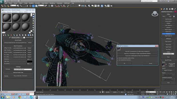 Sins 3D Max Import export