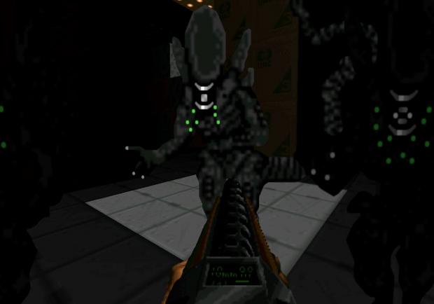 Starship Konrad [Aliens themed WAD]