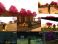 GTA SA Shenmue Cherry Blossom Trees - By iTakumi