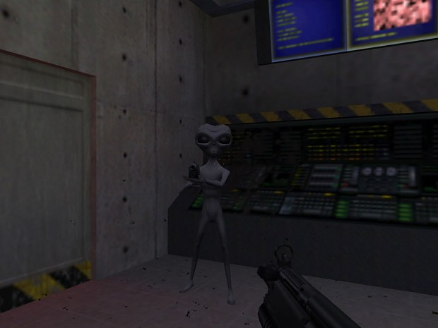 Area 51 Alien for Sweet Half-Life