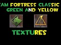 TFC Green and Yellow Team Textures