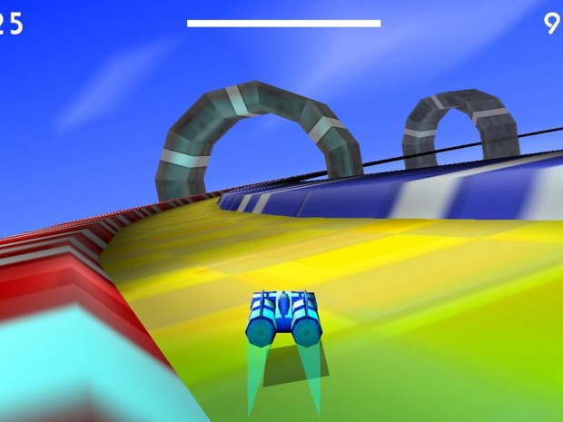 Hover Car Race Challenge Accepted!