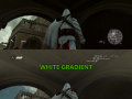 Assassin's Creed Brotherhood - White Gradient Fix