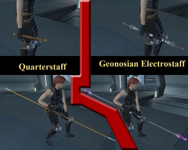 Quarterstaff Replacement Pack