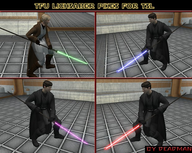 TFU Lightsaber pikes for TSL