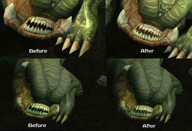 Boma Beast Teeth Fix