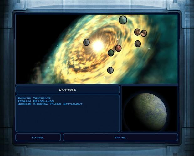 Animated Galaxy Map
