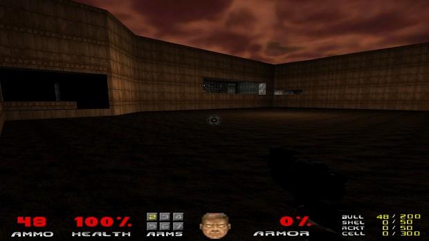 Doom Reborn E1M7 Test Version 3