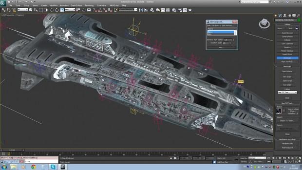 Sins 3D Max Impotrt export