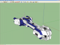 Space Engineers Blue Ship model