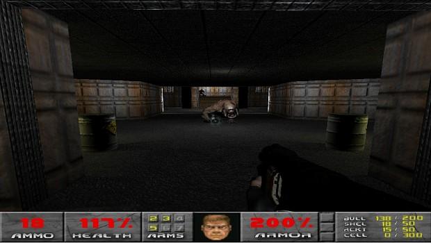 Doom Reborn E1M7 Game Play Test Version 1