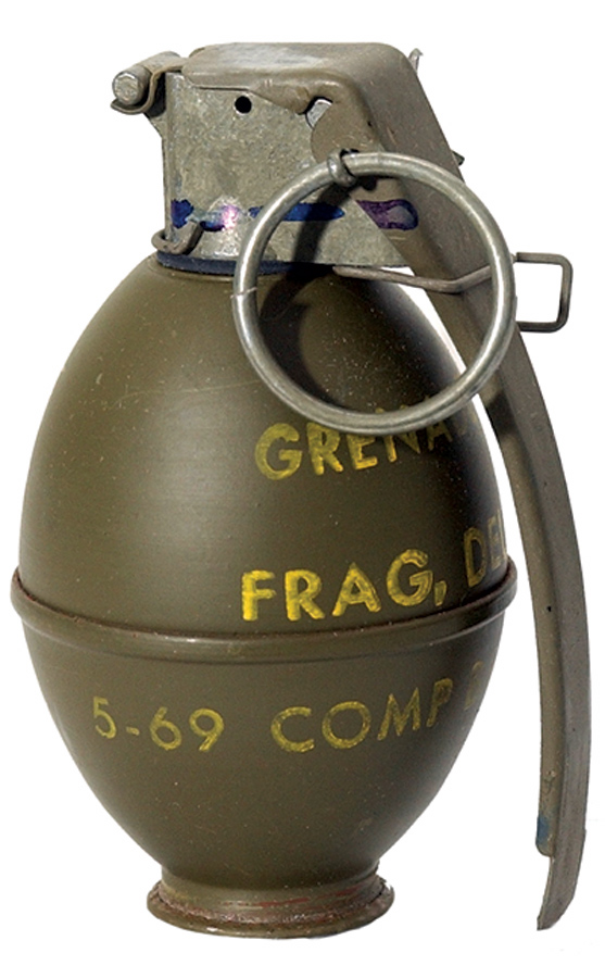 Cooked Grenades mod
